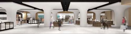 20160119mitsukoshi1 500x132 - 三越銀座店/8階に空港型市中免税店、27日オープン