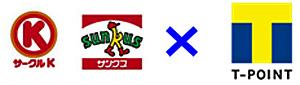 20170705sankus - サークルK・サンクス/8月1日から「Tポイント」導入、Rポイント廃止