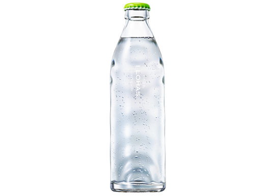 20180611coca2 544x385 - コカ・コーラ/「い・ろ・は・す」から外食向けグラスボトル入り炭酸水
