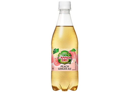 20180723coca 544x385 - コカ・コーラ/「カナダドライ」からピーチ味のジンジャーエール