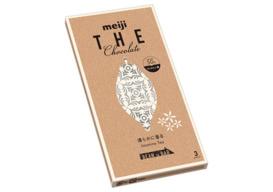 20181109meiji 544x384 - 明治/「ザ・チョコレート 清らかに香るジャスミンティー」発売