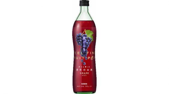 20170523kirin2 562x314 - キリン/果実を皮ごと搾ったアルコール飲料「皮ごこち ぶどう」
