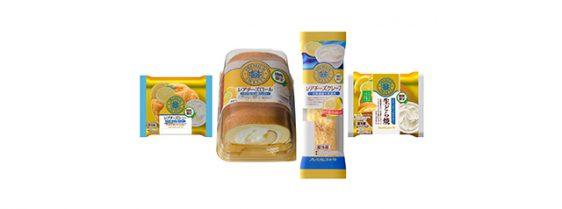 20170630yamazki2 562x209 - 山崎製パン/レアチーズクリームとレモンゼリーを使用した生どら焼き