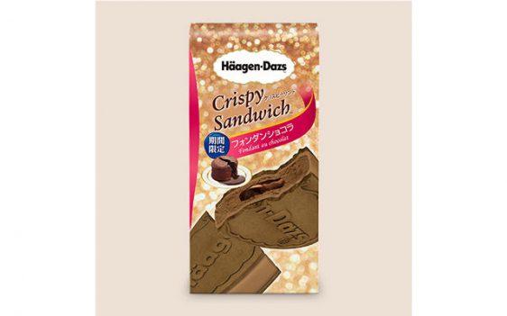 20170922haagen 562x351 - ハーゲンダッツ/濃厚なチョコソース入り「フォンダンショコラ」